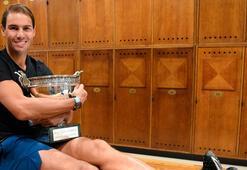 Toprak ağası Nadal, rekorlara doymuyor