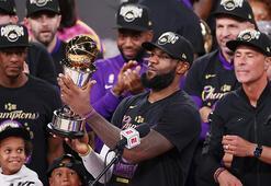 Los Angeles Lakersda LeBron James, Kobe Bryant'a verdiği sözü tuttu