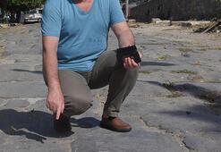 Tepki çeken görüntü İki bin yıllık tarihi İpek Yolu pazar yeri oldu