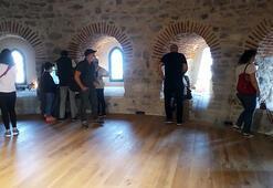 Galata Kulesine ziyaretçilerin yoğun ilgisi