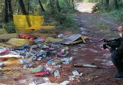Bursa'da bir çevre katliamı Çöplüğe çevirdiler