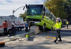 İzmitte halk otobüsü ile hafif ticari araç çarpıştı: 7 yaralı