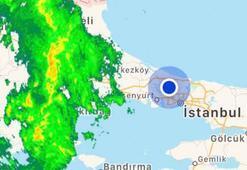 Son dakika... Meteoroloji uyarmıştı Edirnede sağanak yağış başladı