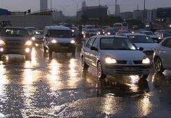 İstanbulda trafik felç Yoğunluk...
