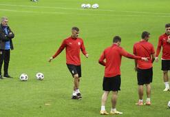 Sırbistan, Türkiye maçının hazırlıklarını tamamladı