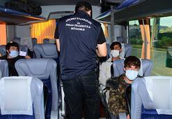 Kocaelide 7 kaçak göçmen yakalandı