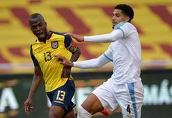 Son dakika | Ekvador, Uruguayı dağıttı Enner Valencia...