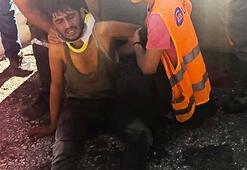 Üzerinden silindir geçen işçi hayatını kaybetti