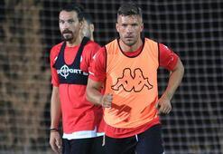 Antalyaspor'da Podolski ilk 11'e dönüyor