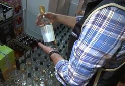 Samsun'da sahte içki operasyonu