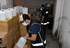 Jandarma ve polis göz açtırmadı İşte sahte içki operasyonlarının bilançosu
