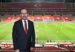 Bakan Kasapoğlu: 2021 yılında Türkiyenin futbol ve diğer branşlarda yukarıya yürüyüşü devam edecek
