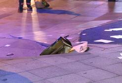 Şişlide şüpheli çanta paniği İçinden telefon ve broşürler çıktı