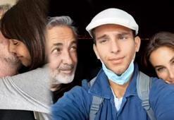 Arzum Onan ile Mehmet Aslantuğdan aile pozu