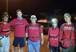 Marmaris'te kaybolan turist 7 saat sonra bulundu