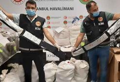 İstanbul Havalimanında piyasa değeri 24 milyon uyuşturucu ele geçirildi