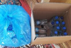 İzmirde 46 litre sahte içki ele geçirildi