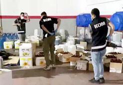 Gaziantepte sahte içki operasyonu: 13 gözaltı