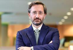 İletişim Başkanı Fahrettin Altun Azerbaycan Cumhurbaşkanı Yardımcısı Hacıyev ile görüştü