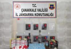 Çanakkalede sahte alkol ürünlerini internetten satan 2 kişi yakalandı