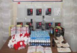 Sahte alkol ürünlerini internetten satan 2 kişi yakalandı
