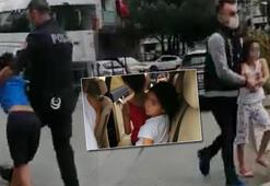 Lübnanlı annenin velayet davası... Çocukların icrayla alındığı anlar kamerada