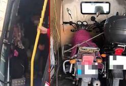 Konya'da minibüs denetimi 17 fazla yolcu çıktı