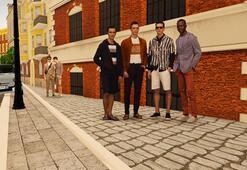 """DAMAT TWEEN'den """"sanal"""" modada bir ilk: İtalya sokaklarında Virtual Runway"""