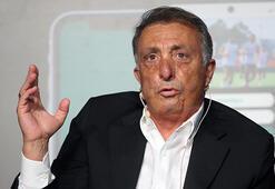 Beşiktaşta Başkan Ahmet Nur Çebi'den gövde gösterisi