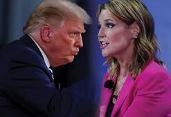 Son dakika: Canlı yayında gerginlik Trumptan skandal sözler...