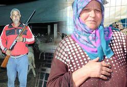 Kurtlar köylere inince tüfekle nöbete başladılar