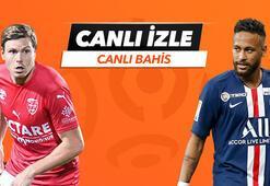 Nimes - PSG maçı Tek Maç ve Canlı Bahis seçenekleriyle Misli.com'da