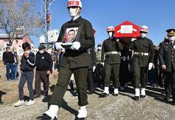 Hatayda şehit olan sözleşmeli er Volkan Soy Karsta toprağa verildi