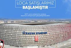 Gaziantep FKde localar satışa çıktı