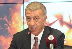 Ahmet Ağaoğlu: Trabzonspor'un borcunu 928 milyon TLye düşürdük