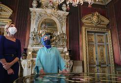 Emine Erdoğan, Zelenskinin eşiyle Dolmabahçe Sarayını ziyaret etti