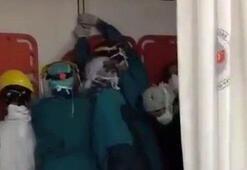 Son dakika Ankarada hastanede olay çıkarmışlardı... Flaş gelişme
