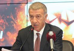 Son dakika | Trabzonsporda beş senede sıfır borç Ahmet Ağaoğlu açıkladı...