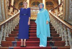 First Lady'ler Dolmabahçe'de