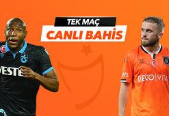 Trabzonspor - Başakşehir maçı Tek Maç ve Canlı Bahis seçenekleriyle Misli.com'da