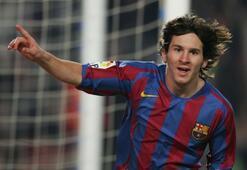Lionel Messinin ilk profesyonel maçı
