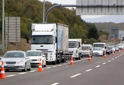 Kapalı olan Bolu Dağı Tüneli, geçici olarak trafiğe açıldı