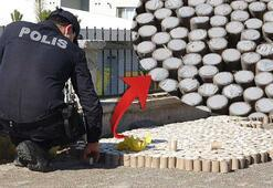 Vatandaşlar dinamite benzetti, polis alarma geçti