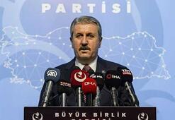 Mustafa Destici: Sessiz kalarak Ermenistanın katliamlarına ortak oluyorlar