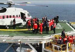 Son dakika: Cumhurbaşkanı Erdoğan Fatih sondaj gemisinde