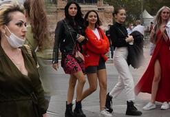 Son dakika: İstanbulda maske takmayan turistler uyarıldı Adım attırılmadı...