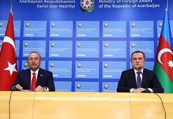 Son dakika... Bakan Çavuşoğlu, Azerbaycanlı mevkidaşıyla görüştü