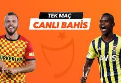 Göztepe - Fenerbahçe maçı Tek Maç ve Canlı Bahis seçenekleriyle Misli.com'da