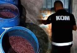 Adanada 215 bin TL değerinde sahte içki ele geçirildi