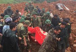 Vietnamda toprak kayması... 3 ölü, 22 kayıp